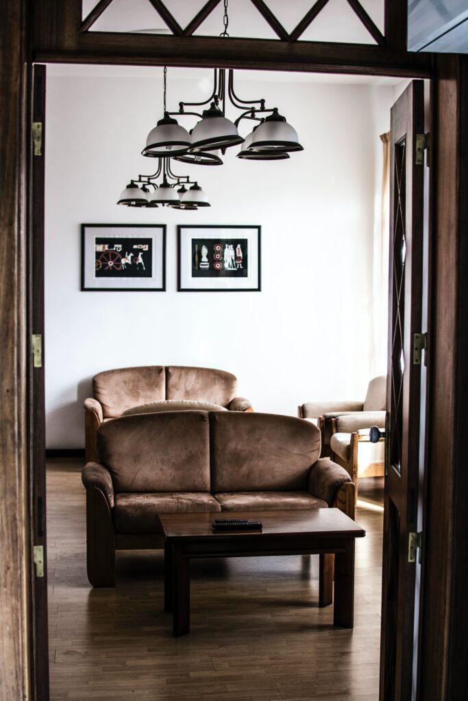 brown interior design