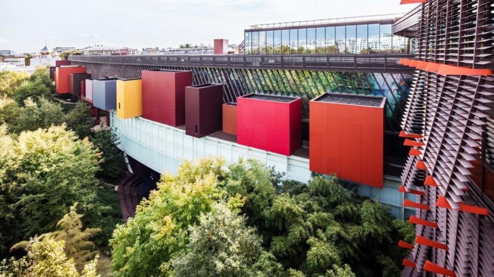 Musée du Quai Branly building design