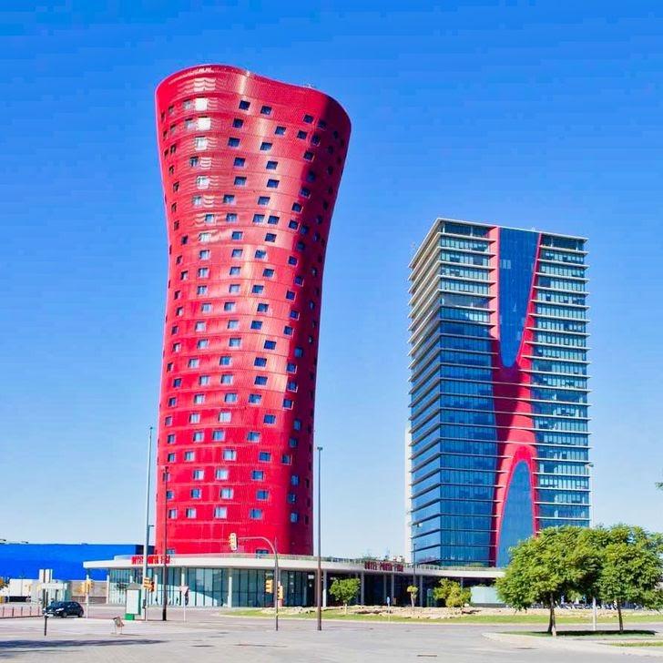 Porta Fira Hotel building design