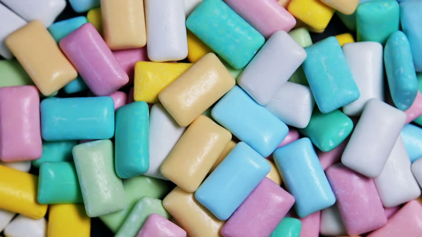 pastel color gums