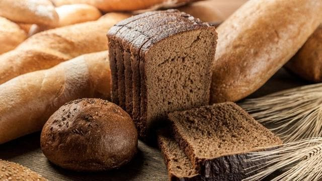 Different types of brown bread