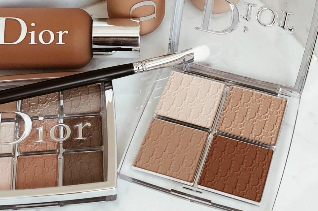 Brown color makeup cosmetics, Dior brand