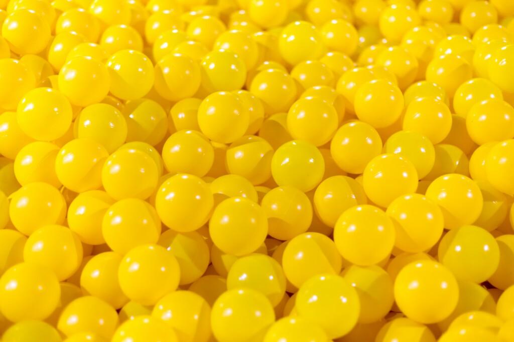 lots of little yellow balls