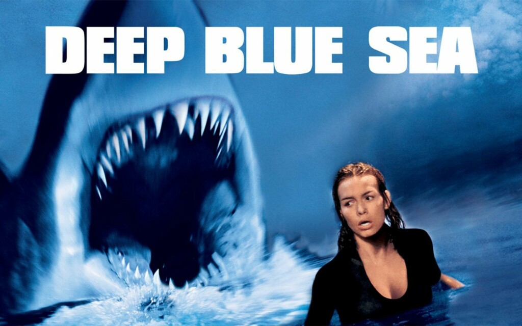 colors in movie titles, deep blue sea 1999
