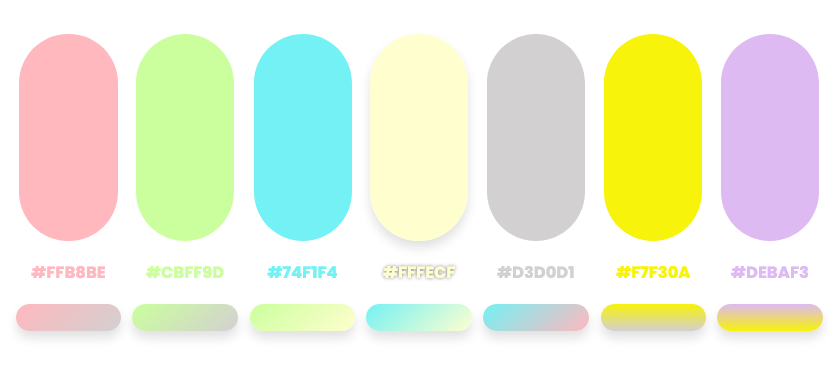 spring color palette by Dopely color palette generator