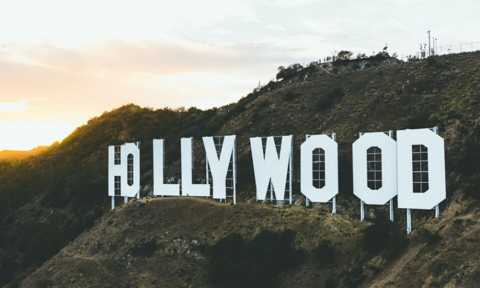 Hollywood logo, color in Hollywood films