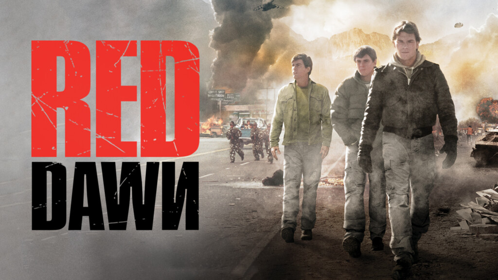 colors in movie titles, red dawn movie 1984