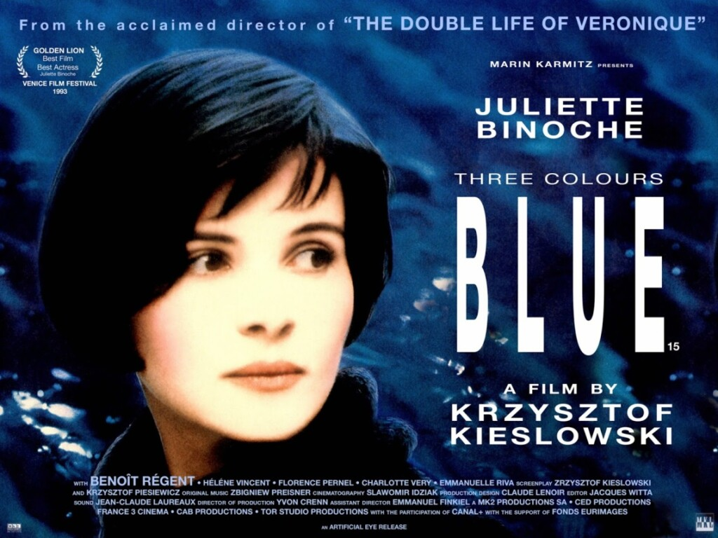 colors in movie titles, blue 1993 movie poster