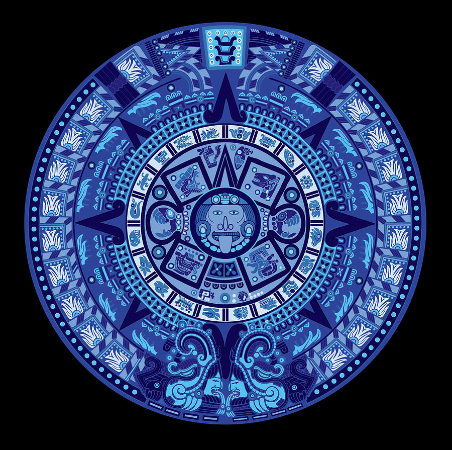 the symbol of the god of the south in Mexican Aztec culture is blue.