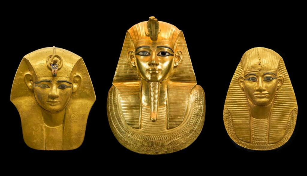 Egyptian colors, yellow (golden). golden color Egyptian pharaohs