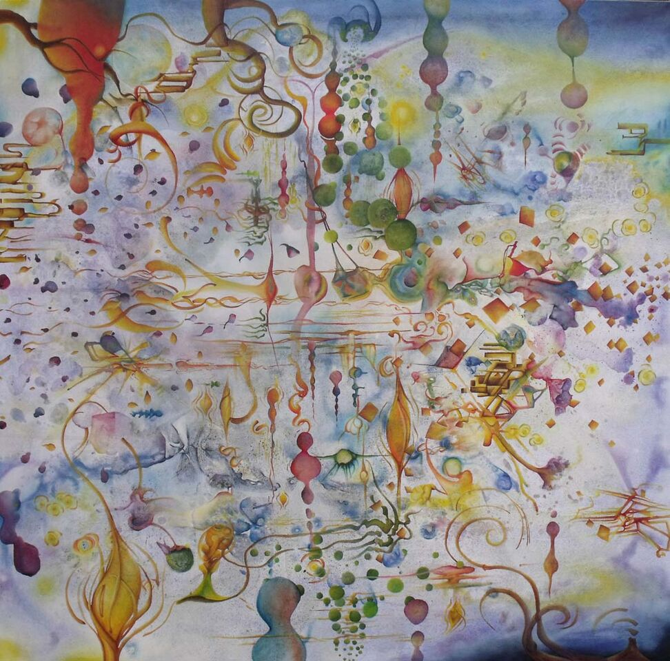 colors and music and an example of chromesthesia Paintings Of Sounds And Music made By The Synesthetic Artist Timothy Layden