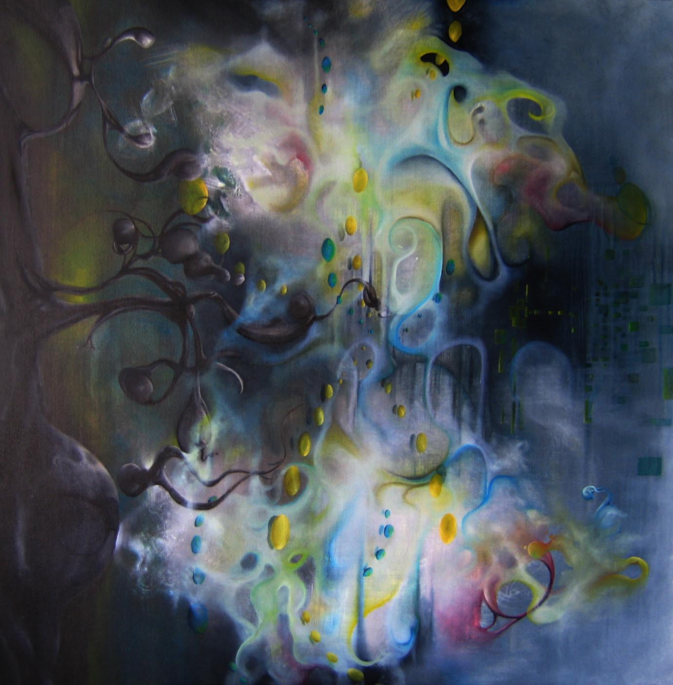 sound-to-colors synesthesia Paintings Of Sounds And Music made By The Synesthetic Artist Timothy Layden