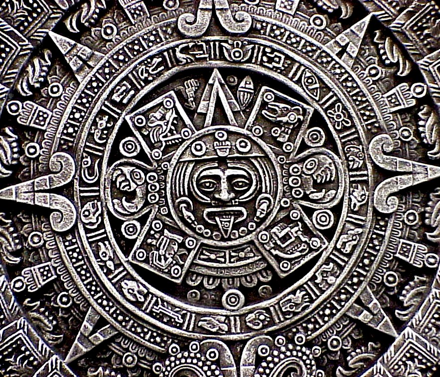 the symbol of the god of the north in Mexican Aztec culture is black.