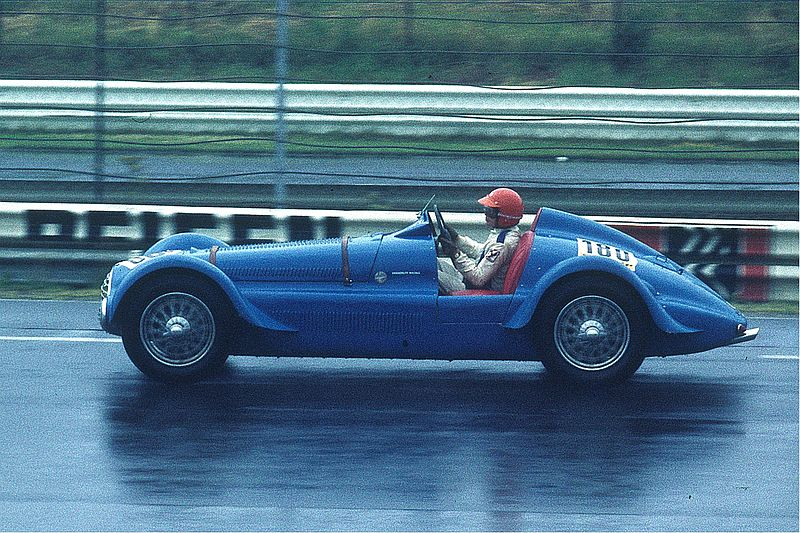 photo of Delahaye 135 MS (1935) about Bleu de France