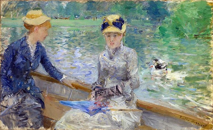 """Summer's Day"""" by Berthe Morisot, 1879."""