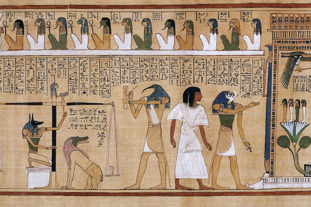 Egyptian colors, white. white color in ancient Egyptian painting